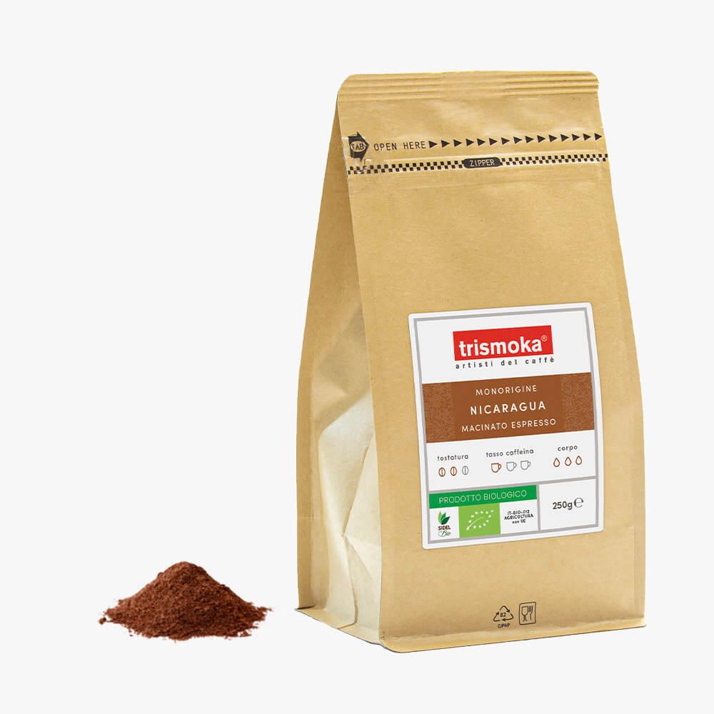 Caffè arabica 100% Nicaragua Bio
