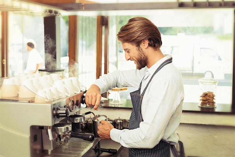 caffè espresso preparazione