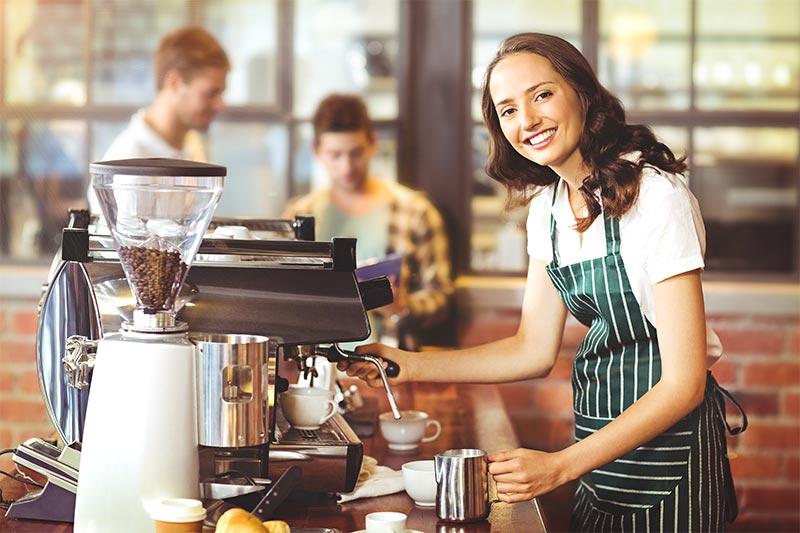 preparazione espresso
