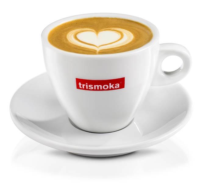 latte art caffè da bar trismoka