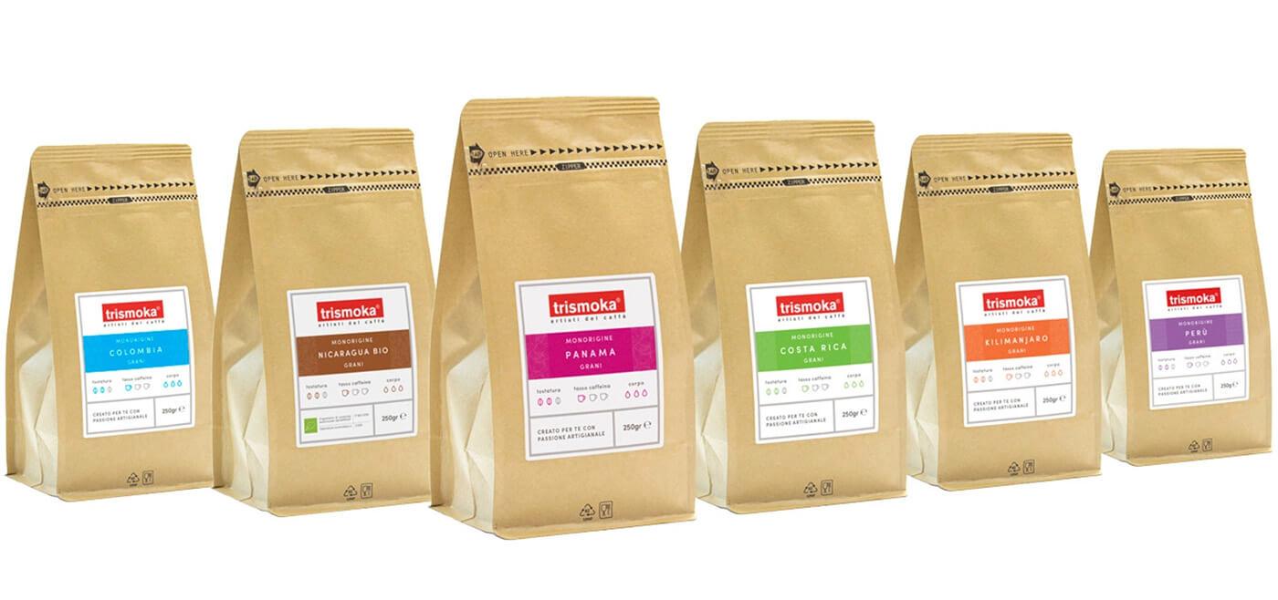 caffè monorigine Trismoka