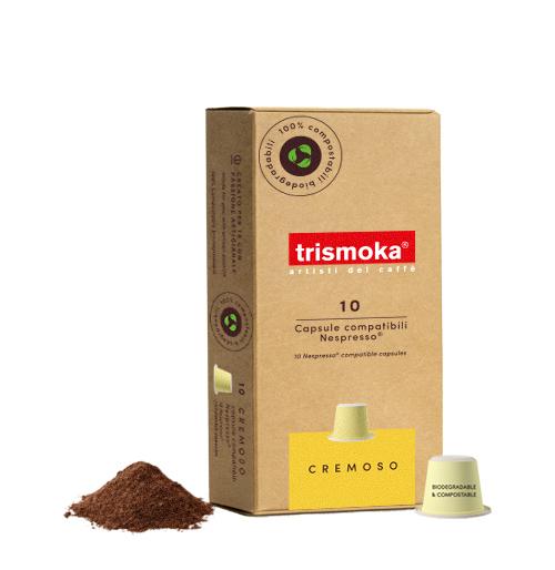 capsule caffè cremoso Trismoka