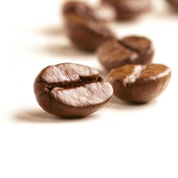 trasformazione di colore del chicco di caffè