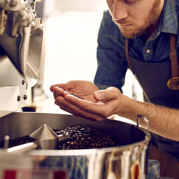 grado di tostatura dei chicchi di caffè